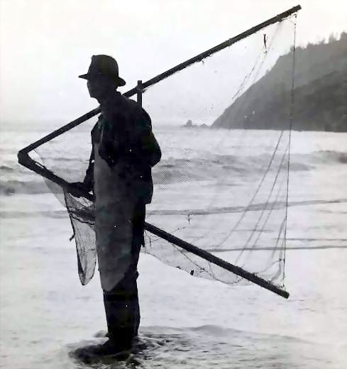 Grandpa Bill With Fishing net2.JPG