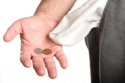 Empty-pockets